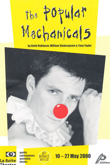 Andrew Buchanan in The Popular Mechanicals, 2000. Image by Grant Heaton.