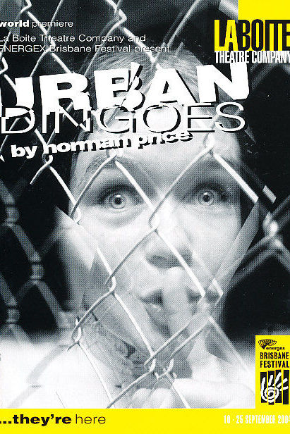 Emily Tomlins in Urban Dingoes by Norman Price, 2004.